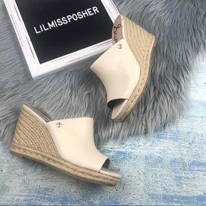 SAM EDELMAN Bonnie Wedge Espadrille Sandal Size 7
